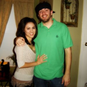 Chris and I in 2006. Just a few days before he proposed. So young! I grateful my MIL captured all these moments!